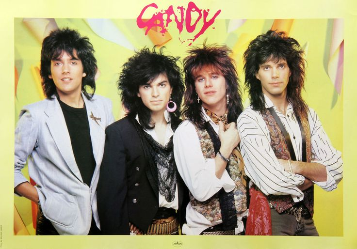Candy 1987 Rare Japan Promo Poster Gilby Clarke Guns N Roses Glam Rock