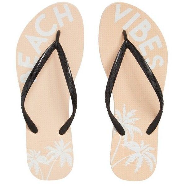 Women's Reef Escape Flip Flop ($24) ❤ liked on Polyvore featuring shoes, sandals, flip flops, beach vibes, reef sandals, reef footwear, beach flip flops, beach footwear and reef shoes