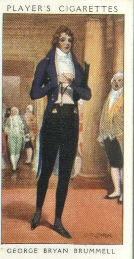 Beau Brummell; I wonder if he really looked like this?
