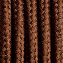 Przewód zasilający Brazylijska Kawa od Kolorowe Kable- brązowy kabel - casa-bella - oświetlenie to nasza pasja