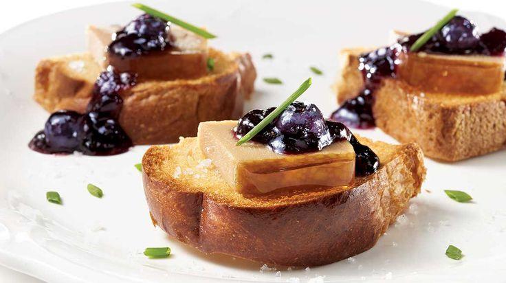 Parfait de foie gras de canard au sirop d'érable Au pied de cochon
