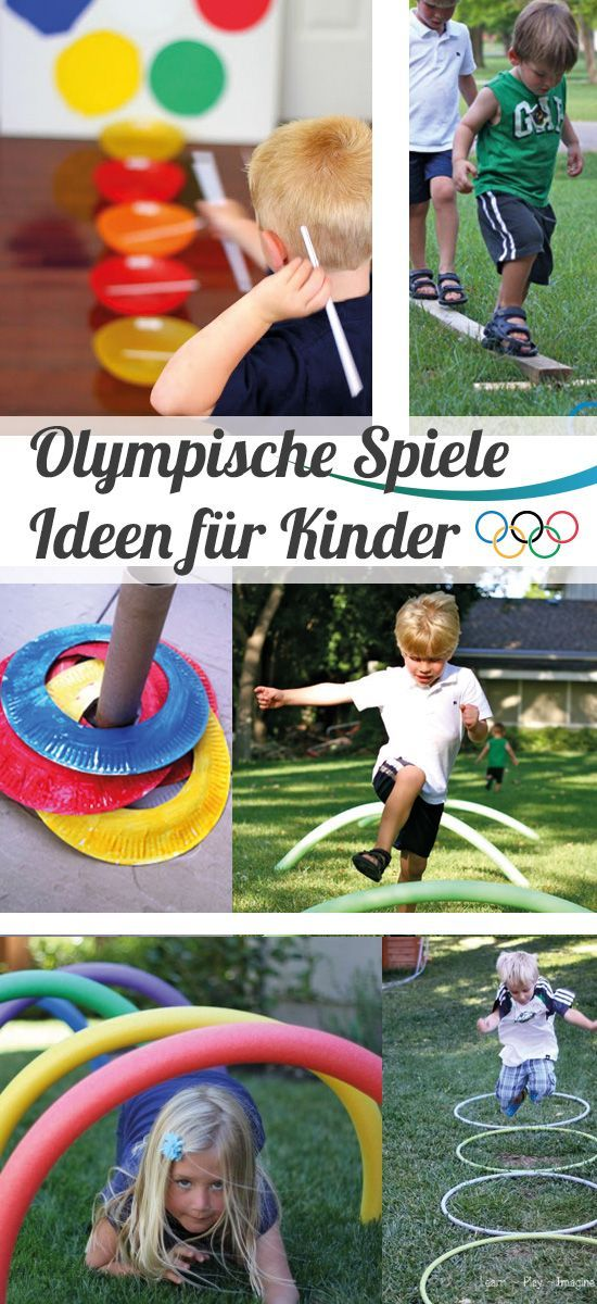 Olympische Spiele - Partyideen für Kinder - Olympia Ideen // #Olympia…