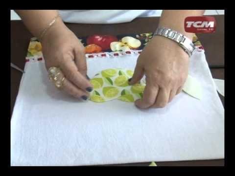 Quadro Eu Faço Arte ensina a decorar panos de prato,LINDO EU QUERO FAZER