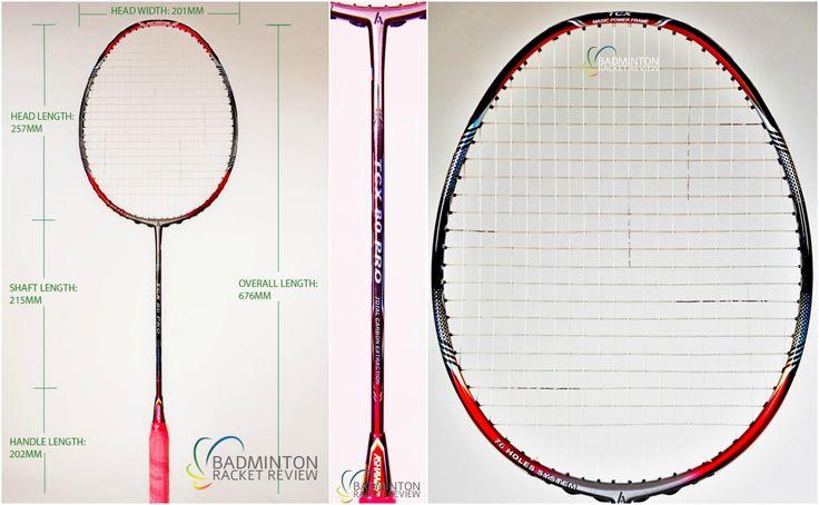 Ashaway TCx 80 Pro Badminton Racket