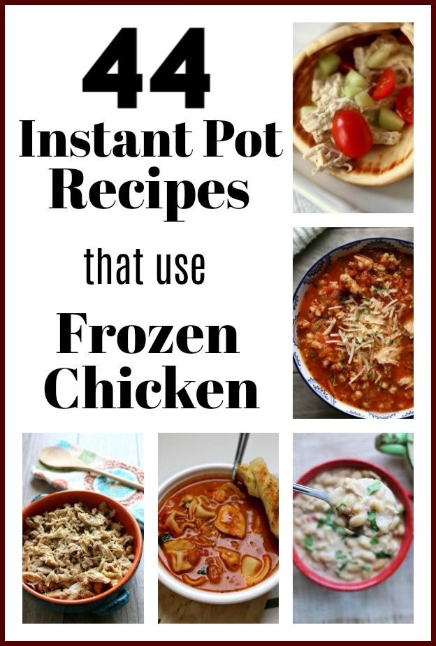 How Long To Cook Frozen Chicken Breast In Instant Pot How To Cook Frozen Chicken Breasts In The Instant Pot Cooking Frozen Chicken Frozen Chicken Breasts Frozen Chicken