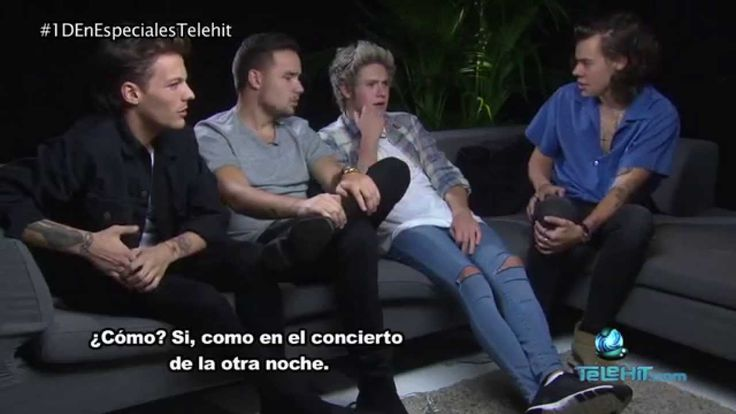 Entrevista de Barbara con One Direction