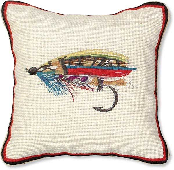 Fly Fish Pillows for Boy's Room