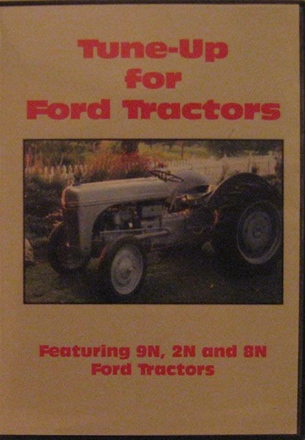 Tune-up DVD  Ford Ford 9N, 2N & 8N DVD