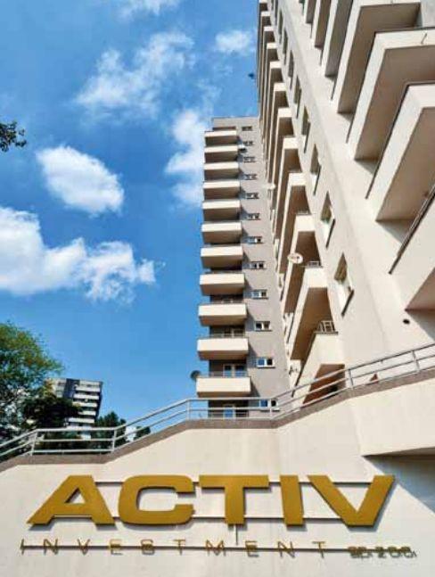 Activ Investment to deweloper, który działa na rynku nieruchomości już od 1996 r. W ciągu 20 lat działalności wybudował parę tysięcy mieszkań w Katowicach, Krakowie, Wrocławiu, Gliwicach, Chorzowie.