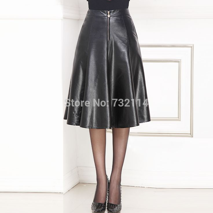 Find More Information about Brand 2014 Fall Women Vintage Black Leather Look Ruffles Pu High Waist Midi Skirt Faux Leather Knee Length Pleated Skirt,High Quality leather shoes with leather sole,China skirt wool Suppliers, Cheap skirt from Oriental stylish Store on Aliexpress.com