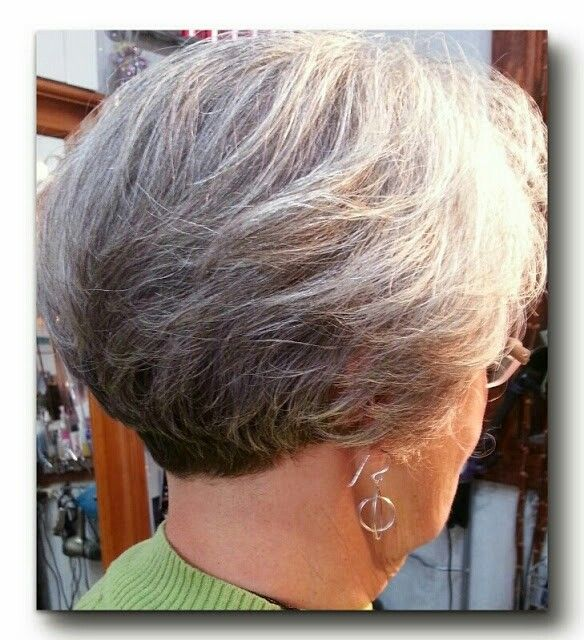 wedge haircuts for gray hair stacking bob by hawaii nailspa hair 3301