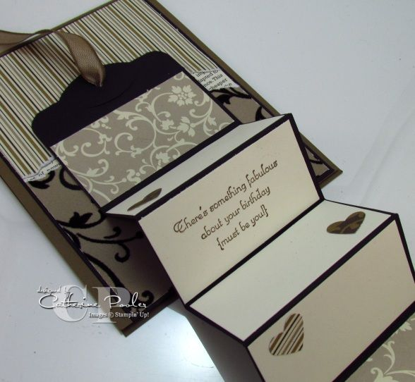 Accordian Fold Moving Card – Do you love Fancy Fold Cards? – Catherine Pooler