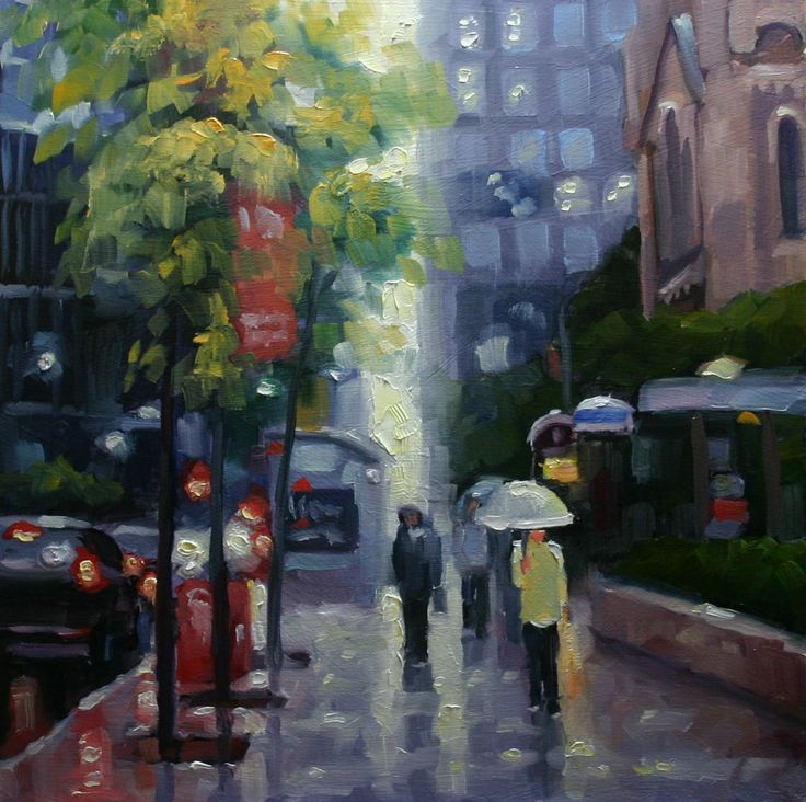 October Rain, Toronto King Street West https://www.facebook.com/cjeffreystudio