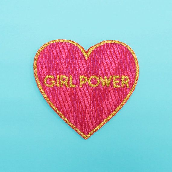 GIRL POWER PATCH by CoucouSuzette on Etsy