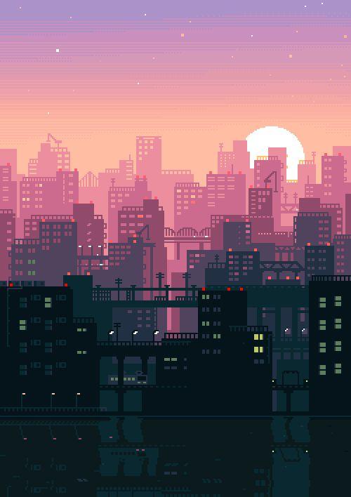 どこか懐かしさを感じる日本の8ビット風GIFアニメ : ギズモード・ジャパン