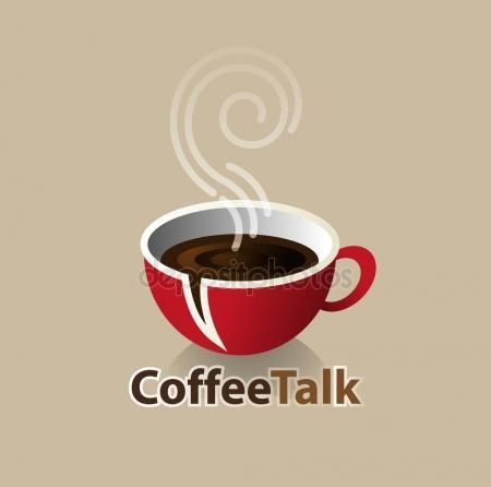 Download - Coffee talk symbol — Stock Illustration #167968272