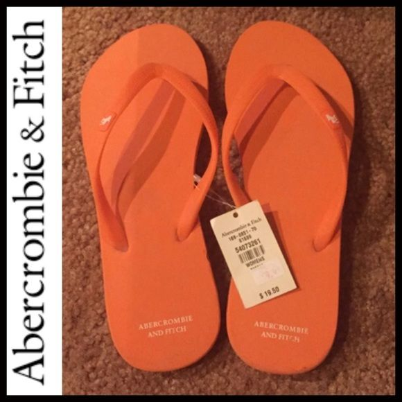 Abercrombie and Fitch sandals orange Abercrombie and Fitch sandals orange Abercrombie & Fitch Shoes Sandals