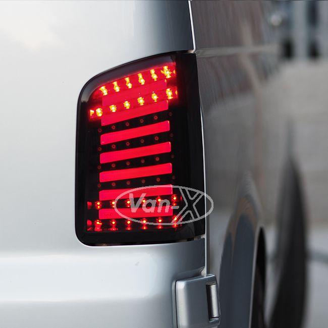 LED Rear Lights MK2  for VW T5 T5.1 T5GP Transporter BARNDOOR