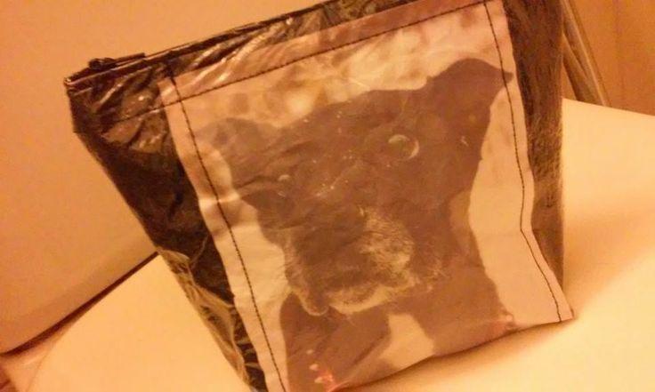 muovipussikokeiluja, printattuna Tessa