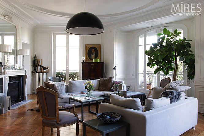 img 2887 espace vivre pinterest haussmannien appartements et vivre. Black Bedroom Furniture Sets. Home Design Ideas