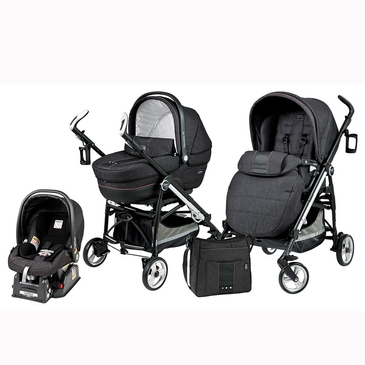 Peg Perego Switch Four Modular System in Denim Black