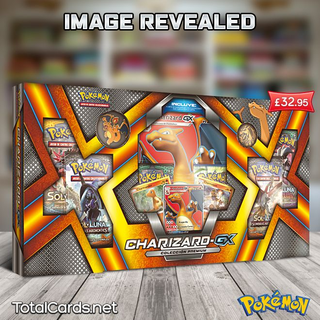 Charizard GX Premium Collection Image Revealed