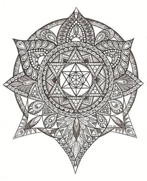 35 Spiritual Mandala Tattoo Designs: Best 25+ Mandala Tattoo Neck Ideas On Pinterest