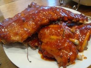 Rooibos spare ribs