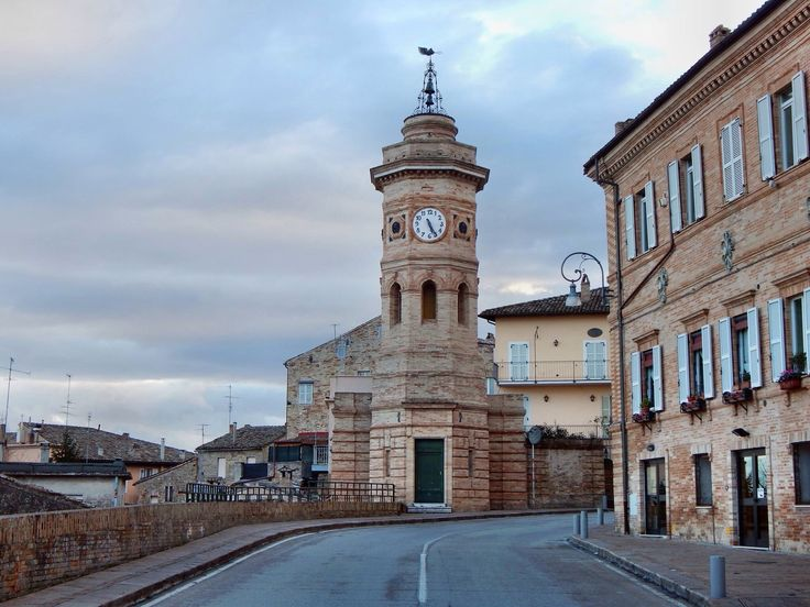 """The tower of the """"Clock"""", #Fermo"""