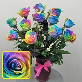 117 best decorative tie dye flowers images on pinterest dye savana elizabeth west kelley u can tie dye a fresh cut rose ur mightylinksfo