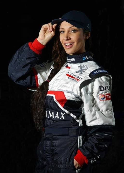 Olga Lounová - RALLY DRIVER & SINGER - CZECH REPUBLIK 1