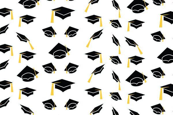 Papel deco de graduación