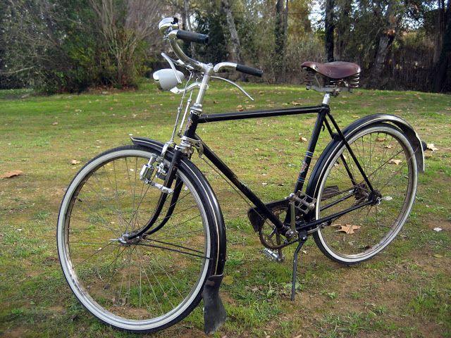 BH de 1950. - RECICLONE, restauración de bicicletas antiguas.