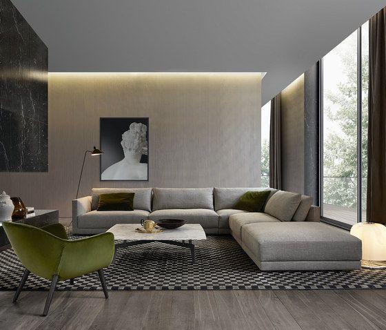 Sofas | Sitzmöbel | Bristol | Poliform | Jean Marie Massaud. Check it out on Architonic