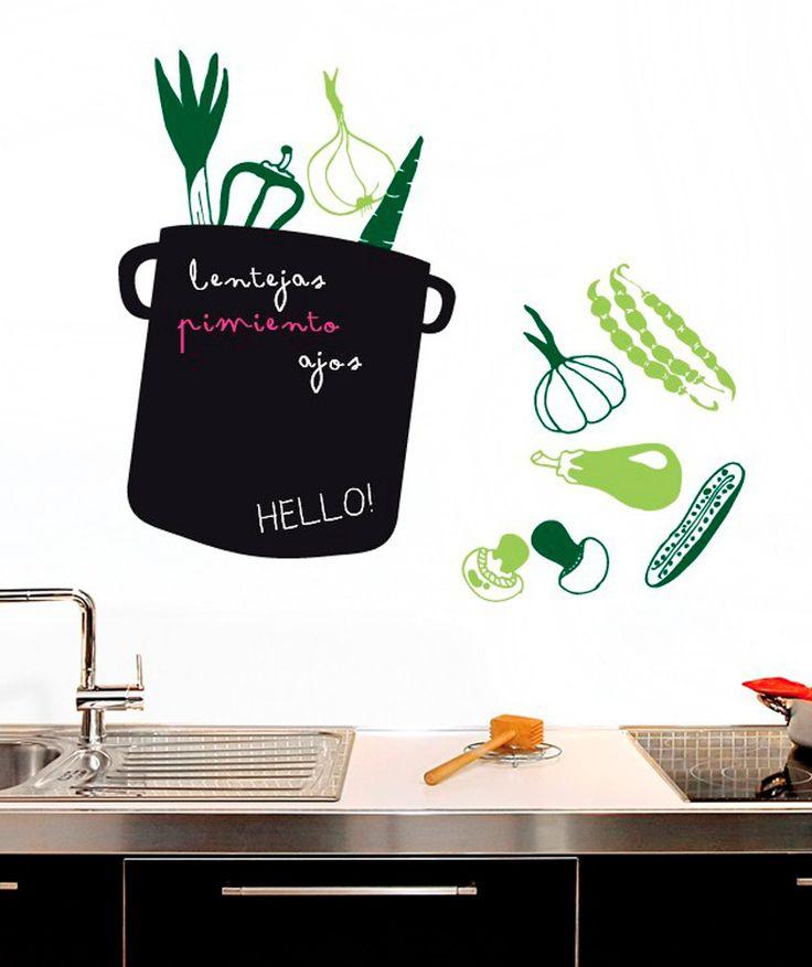 Veggie Soup - Vinilo adhesivo, Vinilo decorativo, Vinilo pizarra. $89.900 COP. Cómpralo aquí--> https://www.dekosas.com/productos/hogar-decoracion-dekosas-myvinilo-PZ008-detalle