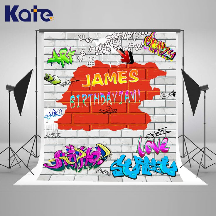 Find More Background Information about Kate White Graffiti Wall Birthday Background 10ft 90s' Hip Pop Background For Photos For Children Backgrounds Photo Studio,High Quality Background from Marry wang on Aliexpress.com