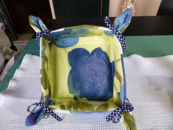 cestino porta pane o anche svuota tasche, by I sogni nel cassetto, 5,00 € su misshobby.com