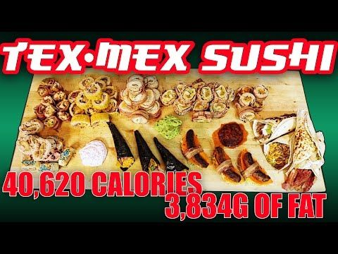 These Bizarre Tex-Mex Sushi Rolls Cross The Border Between Tacos And Sushi (Video)