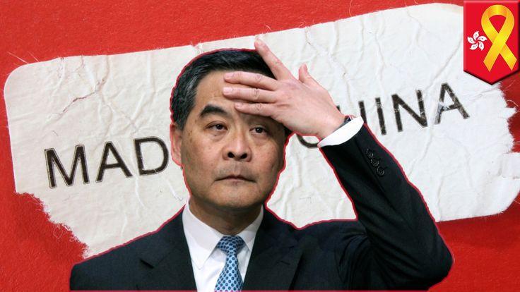 Umbrella Revolution: CY Leung and the CCP are getting desperate