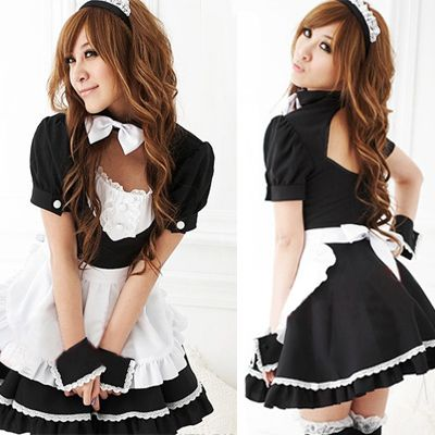 Aliexpress.com : Buy french maid maid uniform black skirt wholesale clothing halloween costumes from Reliable costume skirt suppliers on JUM...