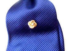 Vintage Knotted Tie Pin With Rhinestone