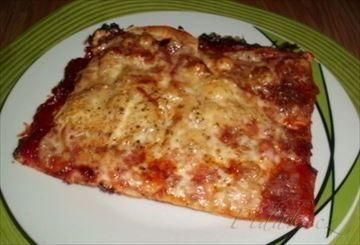 Zobrazit detail - Recept - Rychlá pizza z jogurtového těsta