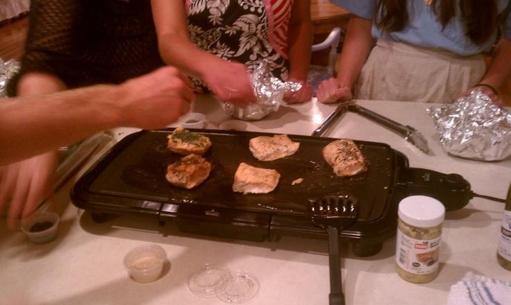 Herbing the Fish #food #recipe #cookbook