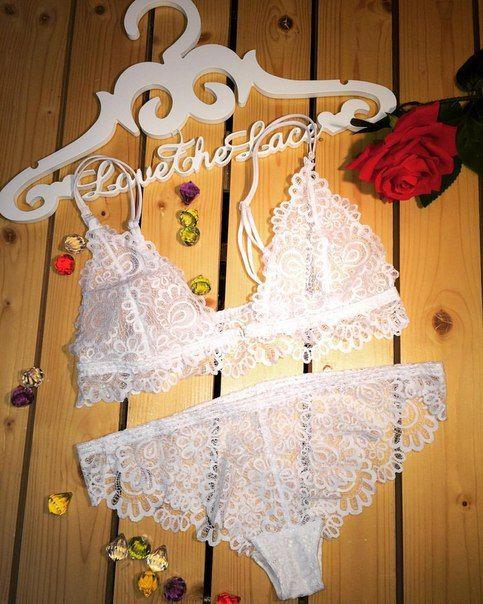 белоснежно белье для невесты