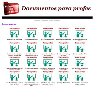 AYUDA PARA MAESTROS: Cientos de documentos y programaciones para profes...
