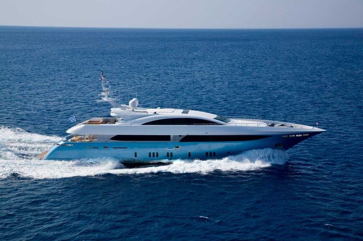 MY Barents Sea Yacht in Greece