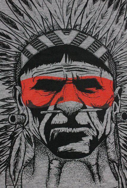 Camiseta Indio - Masculino