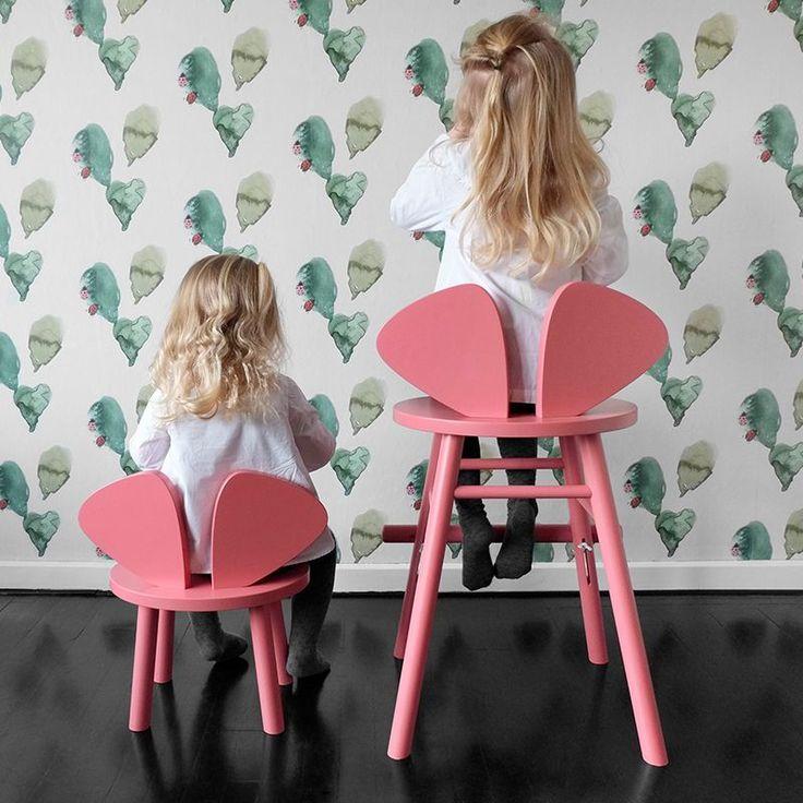 Just the perfect chair for your little mouse. #nofred #mousechair #kidsroom #kidsroominspo #barnerum #barnerom #kinderzimmer #danishdesign #boho #stadtlandkind