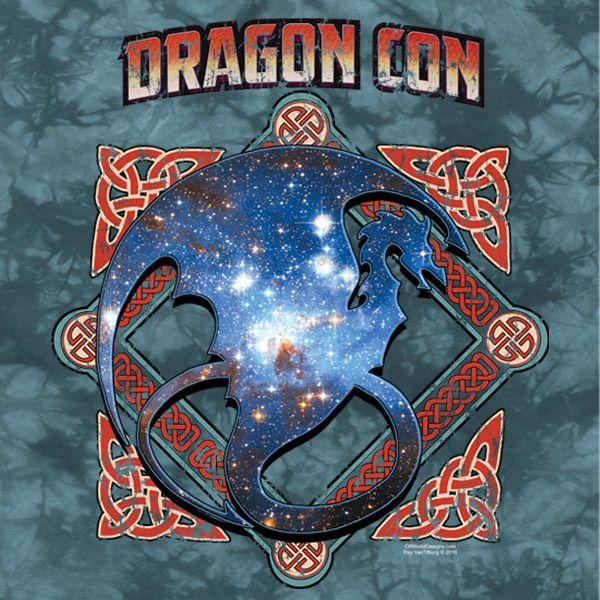 Dragon Con 2016 Ladies V-Neck
