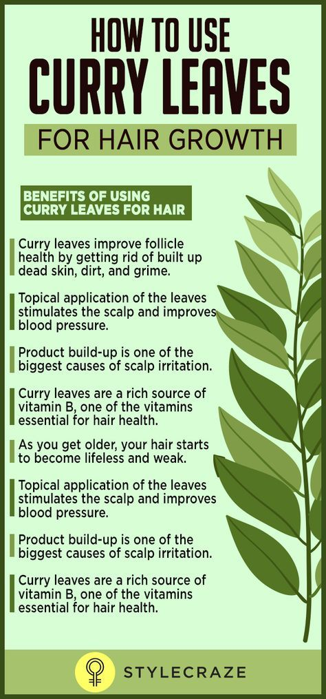 Most of the time, hair fall is directly related to follicle health. Hair follicles get clogged due to factors such as an oily scalp, pollution, and the build-up of products. The clogged follicles leave the scalp feeling irritated, causing itching, dandruff, and hair fall. Curry leaves can effectively treat these problems because of the following properties: